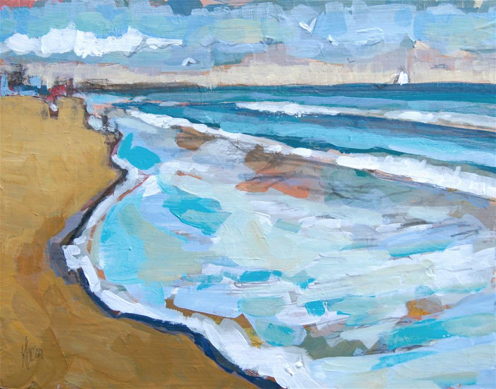 """Thin water"" original fine art by Kevin Larson"