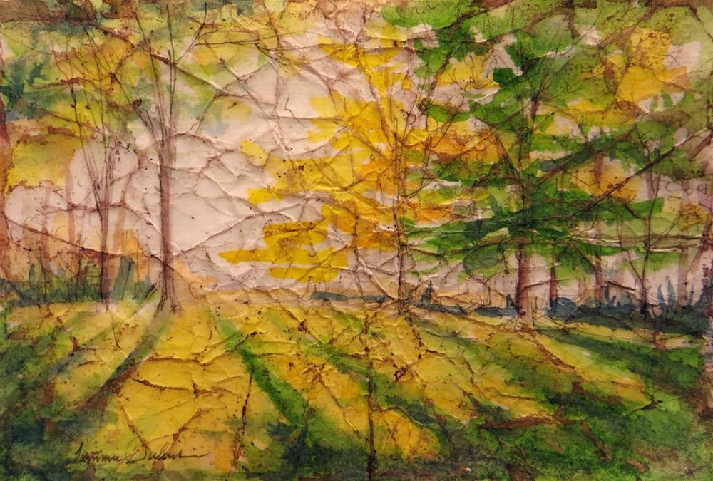 """Golden Glow"" original fine art by Tammie Dickerson"