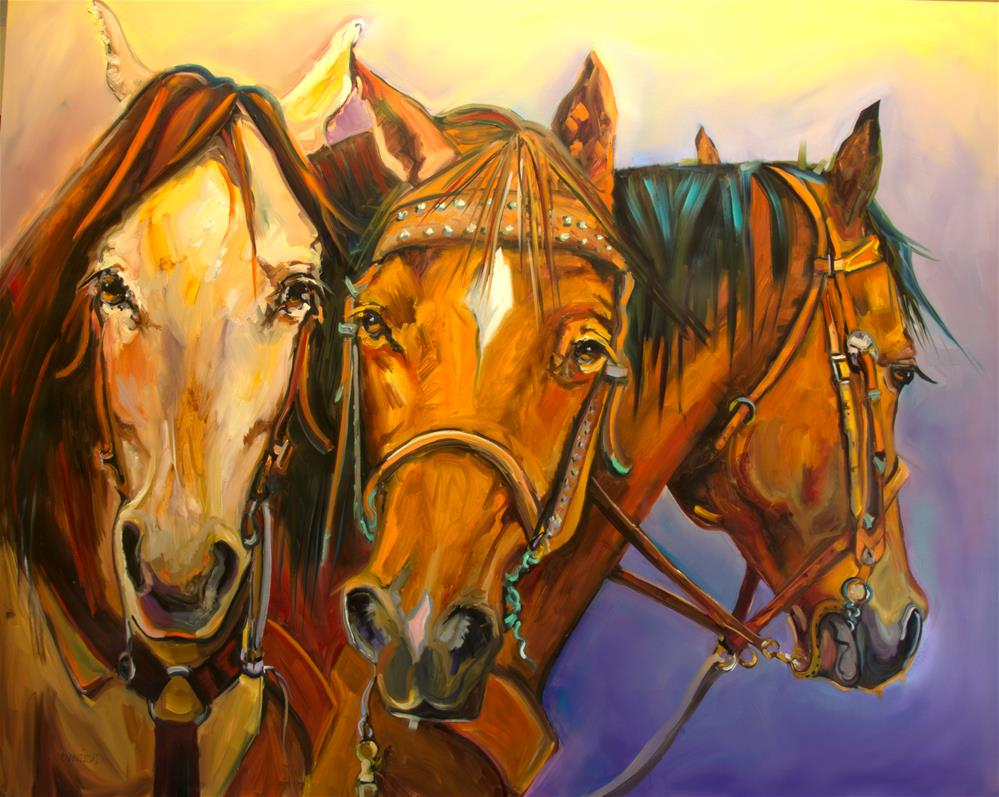 """""""All Dressed Up"""" original fine art by Diane Whitehead"""