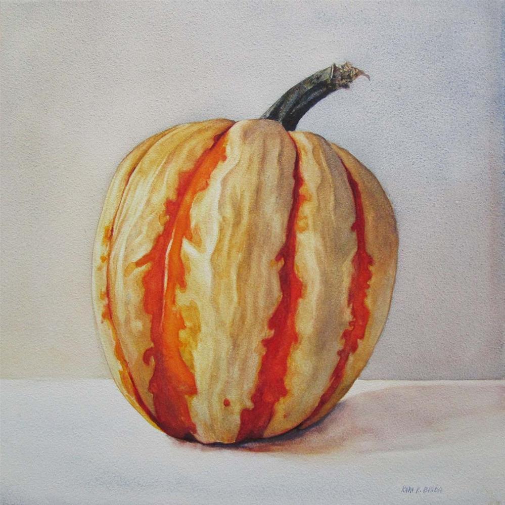 """The Gourd"" original fine art by Kara K. Bigda"