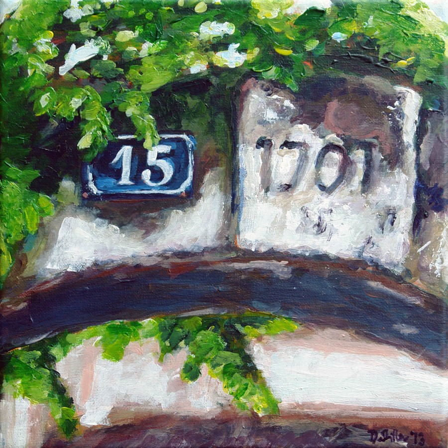 """0672 Anno 1701"" original fine art by Dietmar Stiller"
