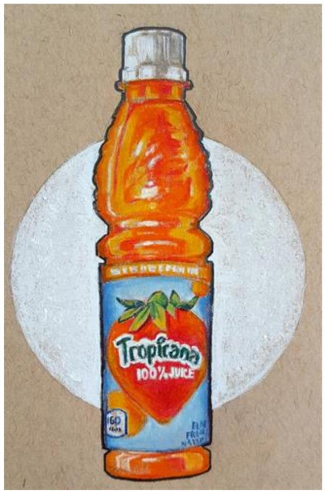 """New Flavor"" original fine art by Bhavna Misra"