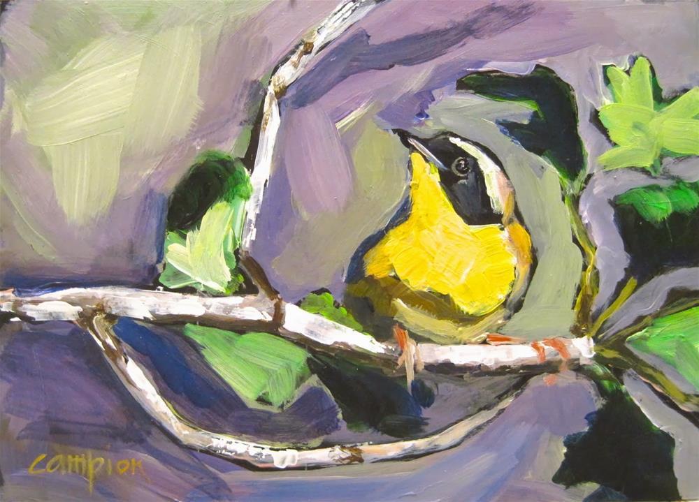 """244. Common?  Hmpf."" original fine art by Diane Campion"