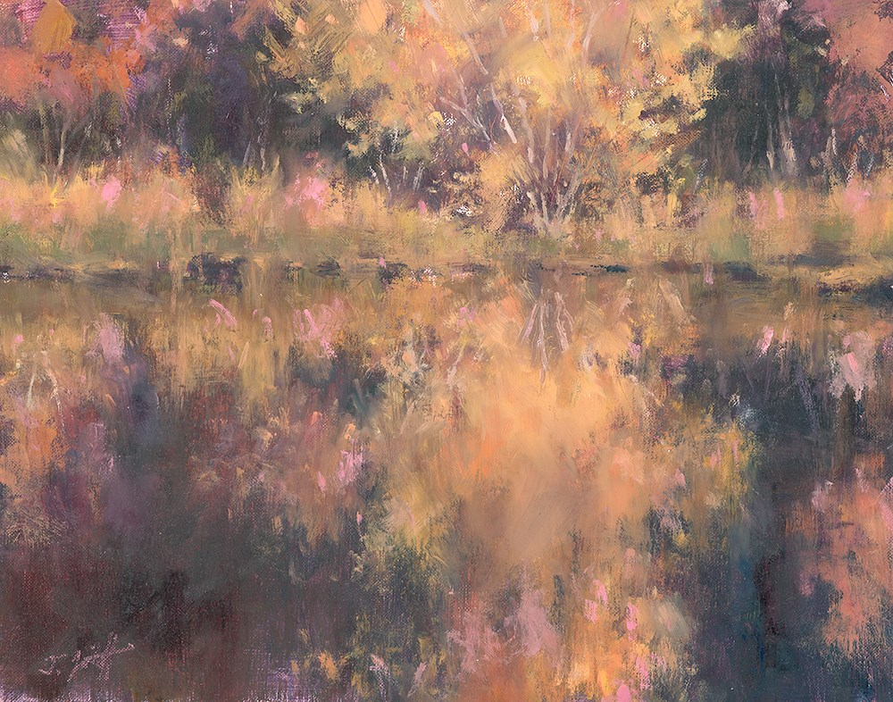 """Fall Palette II"" original fine art by Todd Zuithof"
