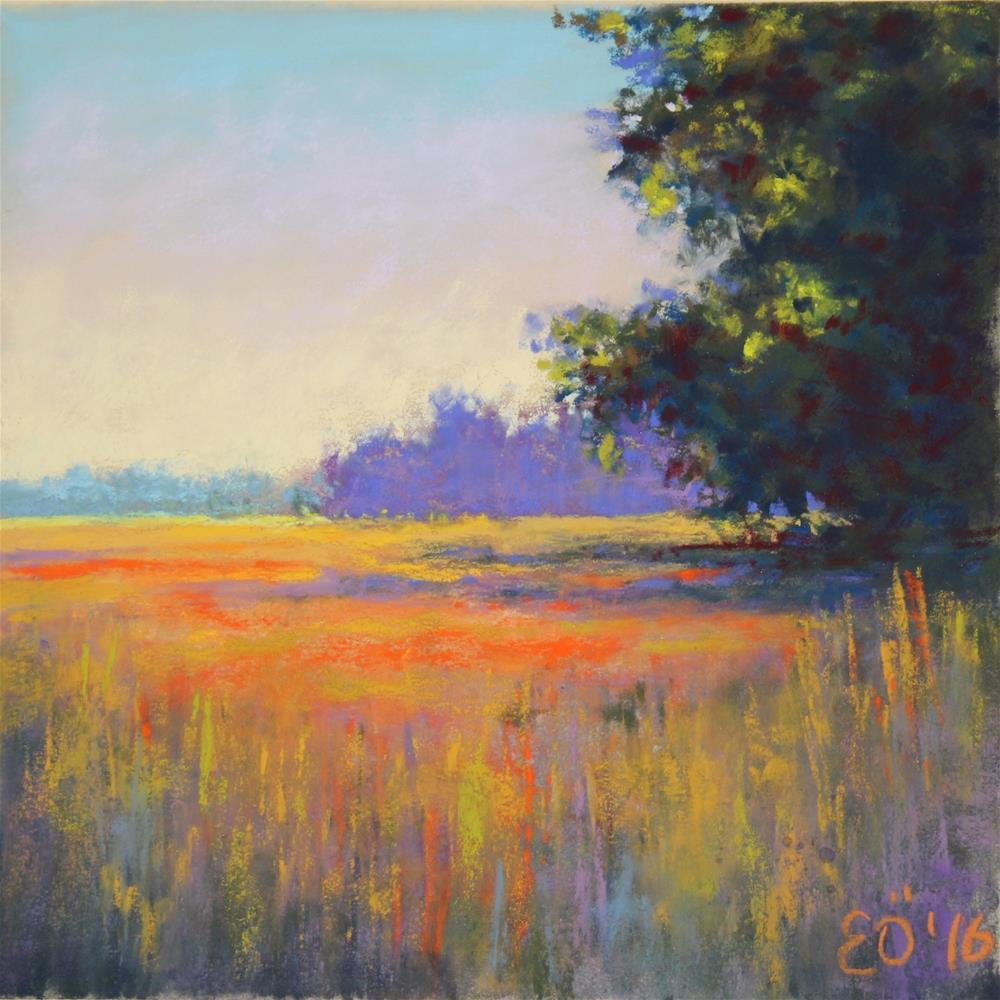 """Summer"" original fine art by Elcin Ozcan"