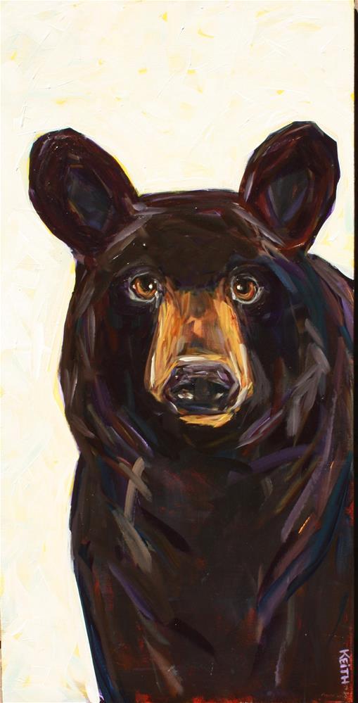 """Bernie"" original fine art by Kandice Keith"
