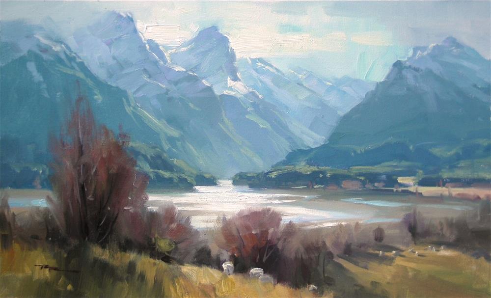 """Paradise"" original fine art by Richard Robinson"