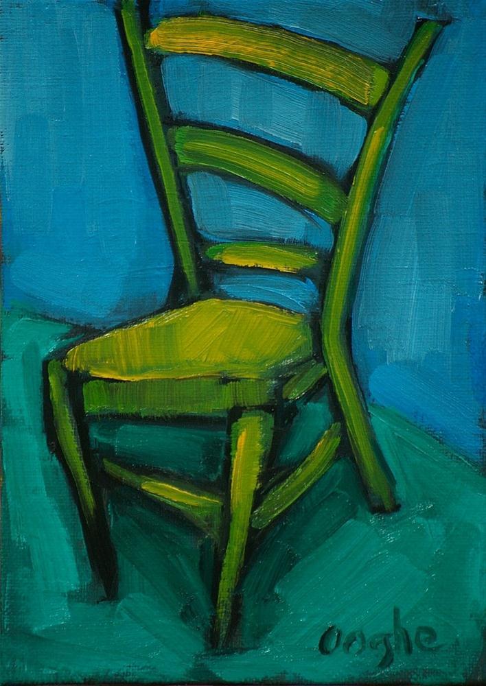 """Dancing Chair"" original fine art by Angela Ooghe"