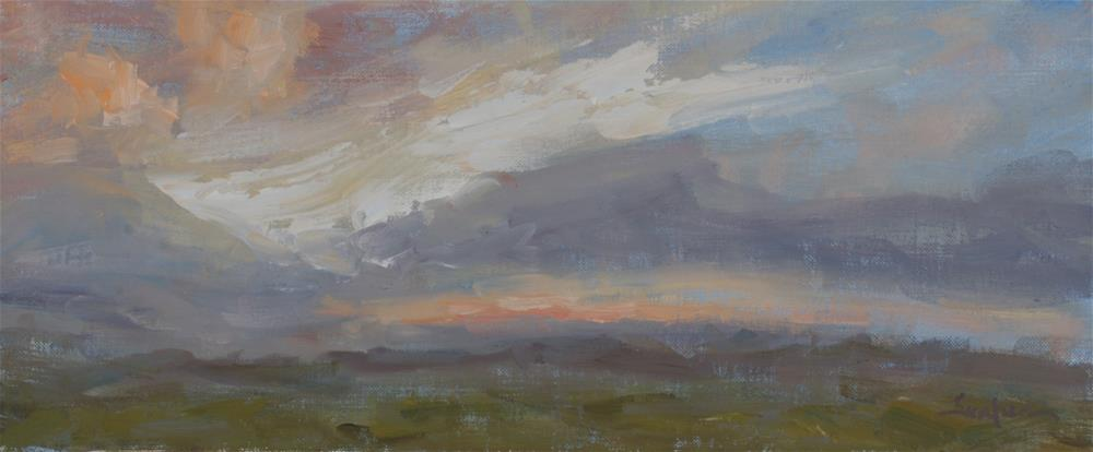 """Summer Sunrise 01"" original fine art by Scott Serafica"