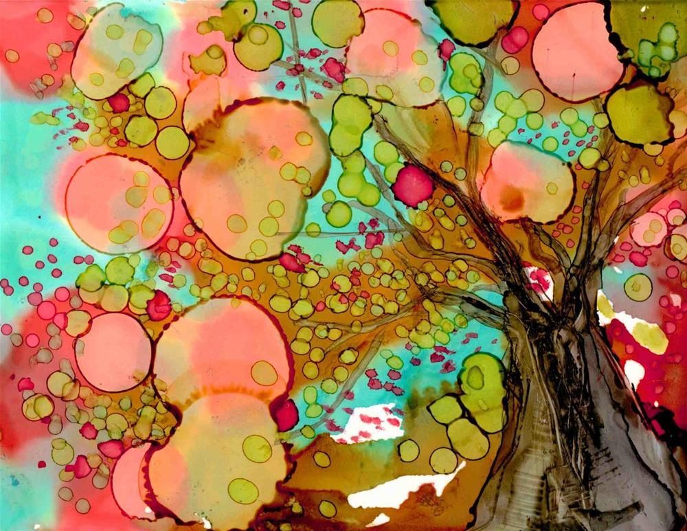 """Looking Up"" original fine art by Kelly Alge"