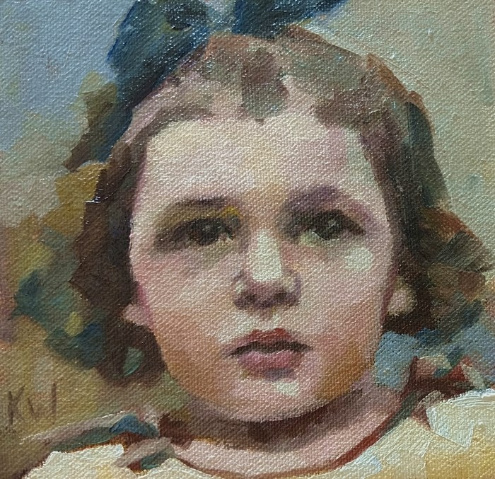 """Small Series #54"" original fine art by Katie Wilson"