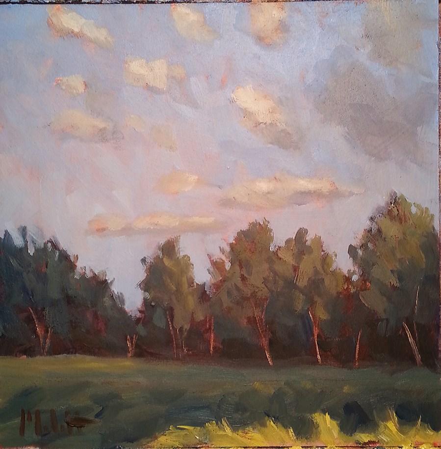 """Summer Landscape Contemporary Impressionism Daily Art"" original fine art by Heidi Malott"