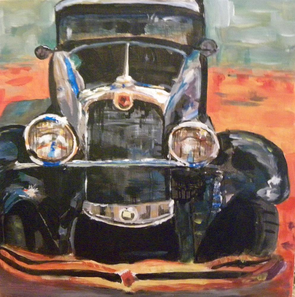 """Model T"" original fine art by cheryl buhrman"