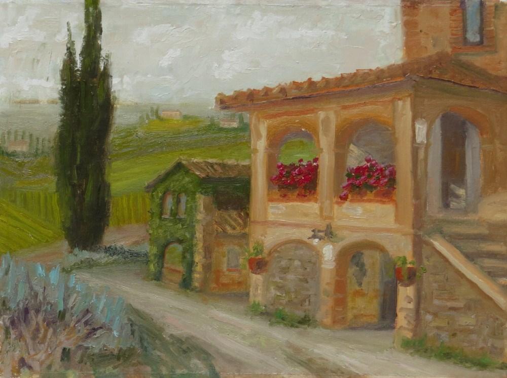"""Piombia"" original fine art by Richard Kiehn"