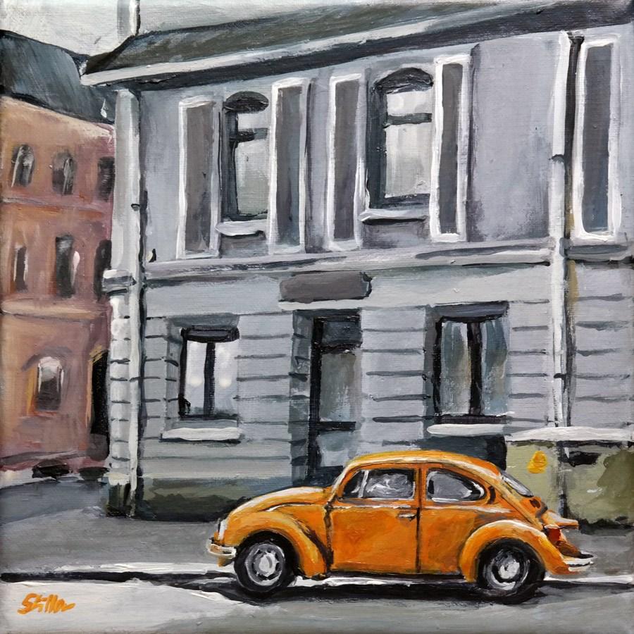 """""""1662 Sweet Beetle"""" original fine art by Dietmar Stiller"""