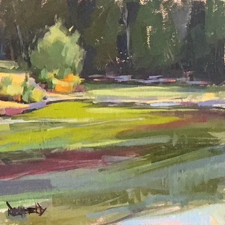 """Moody Hood River"" original fine art by Cathleen Rehfeld"