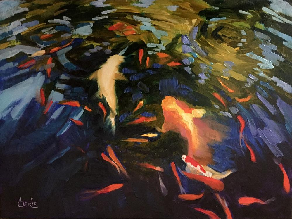 """Ethereal Glow"" original fine art by Andrea Jeris"