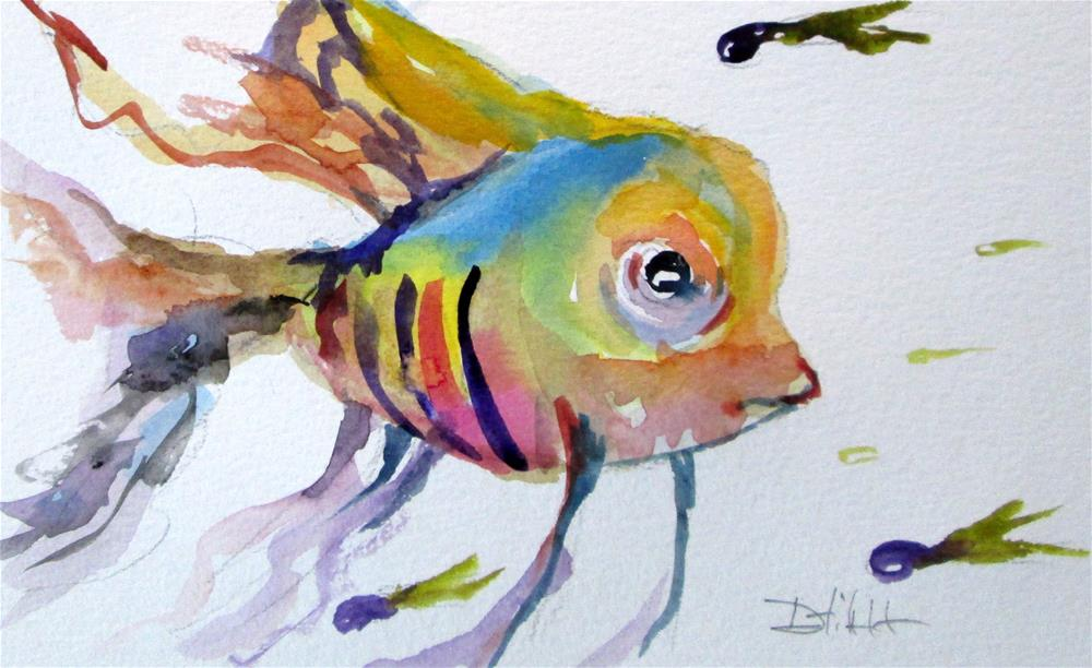 """Tropical Fish No.3"" original fine art by Delilah Smith"