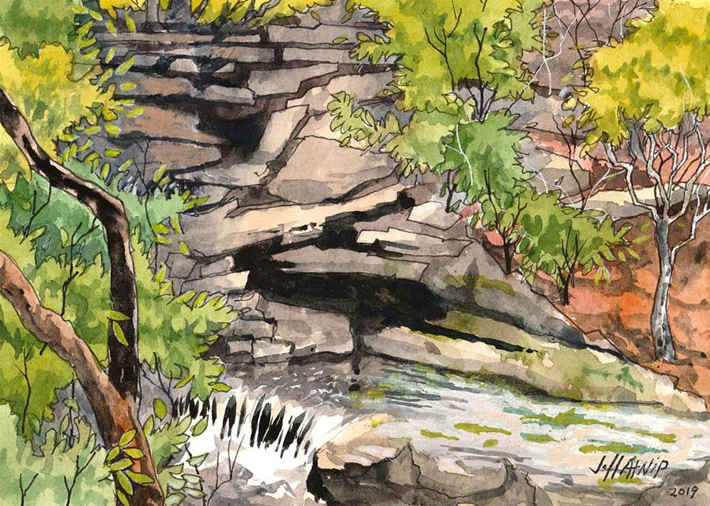 """Mountain Spring"" original fine art by Jeff Atnip"