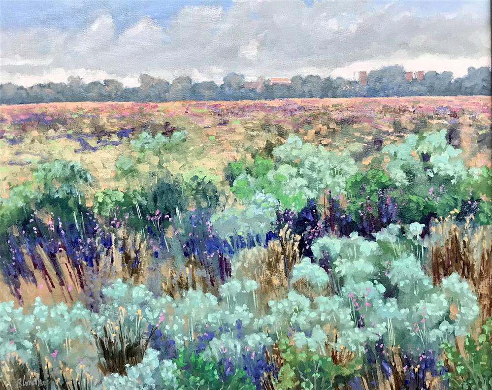 """""""Prairie View"""" original fine art by Linda Blondheim"""