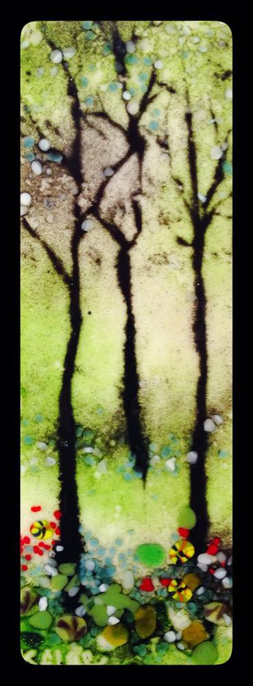 """Summer Trees"" original fine art by Kelly Alge"