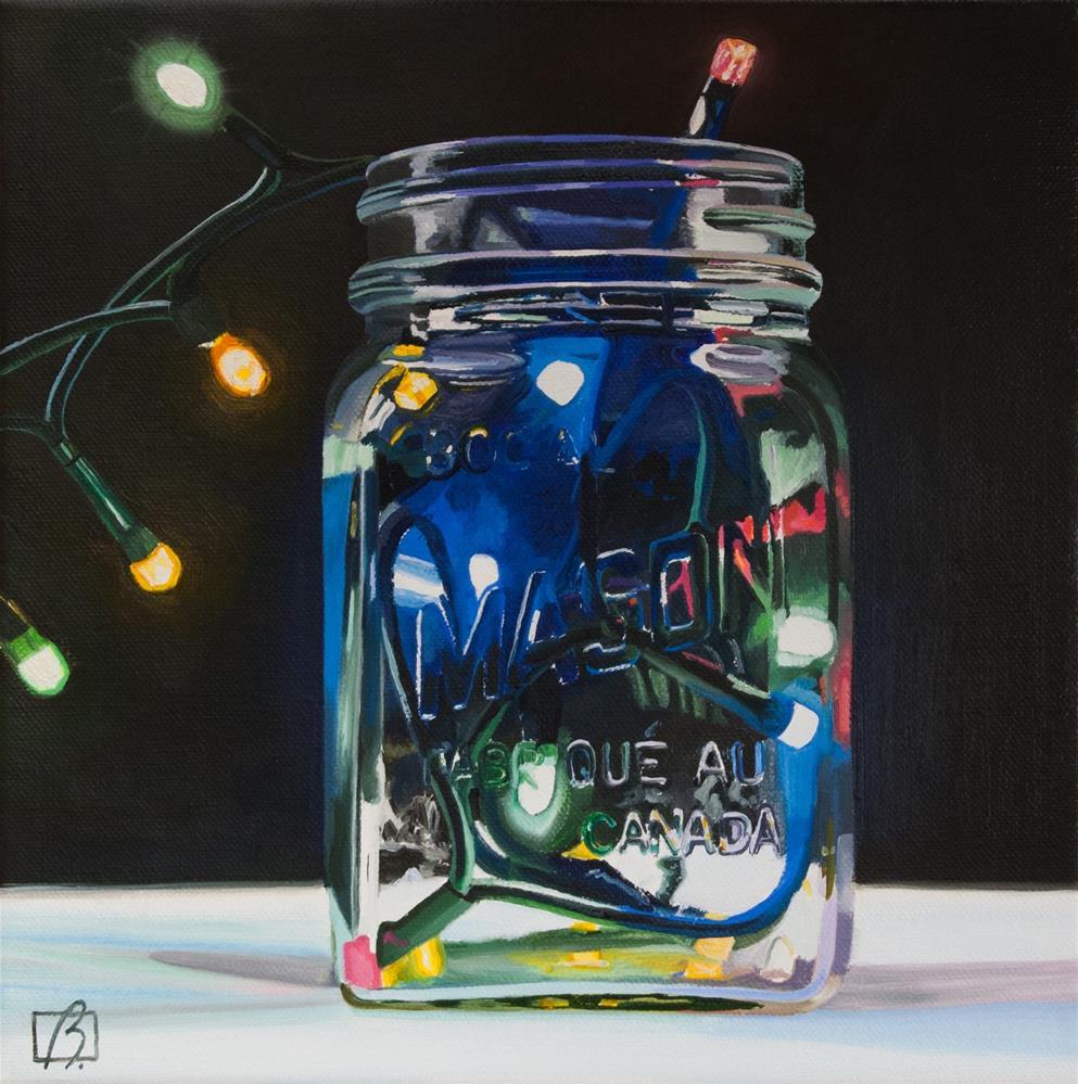 """You Light Up My Life"" original fine art by Andre Beaulieu"