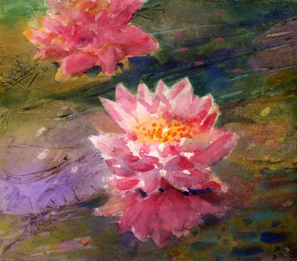 """Magic Blossoms"" original fine art by Melissa Gannon"