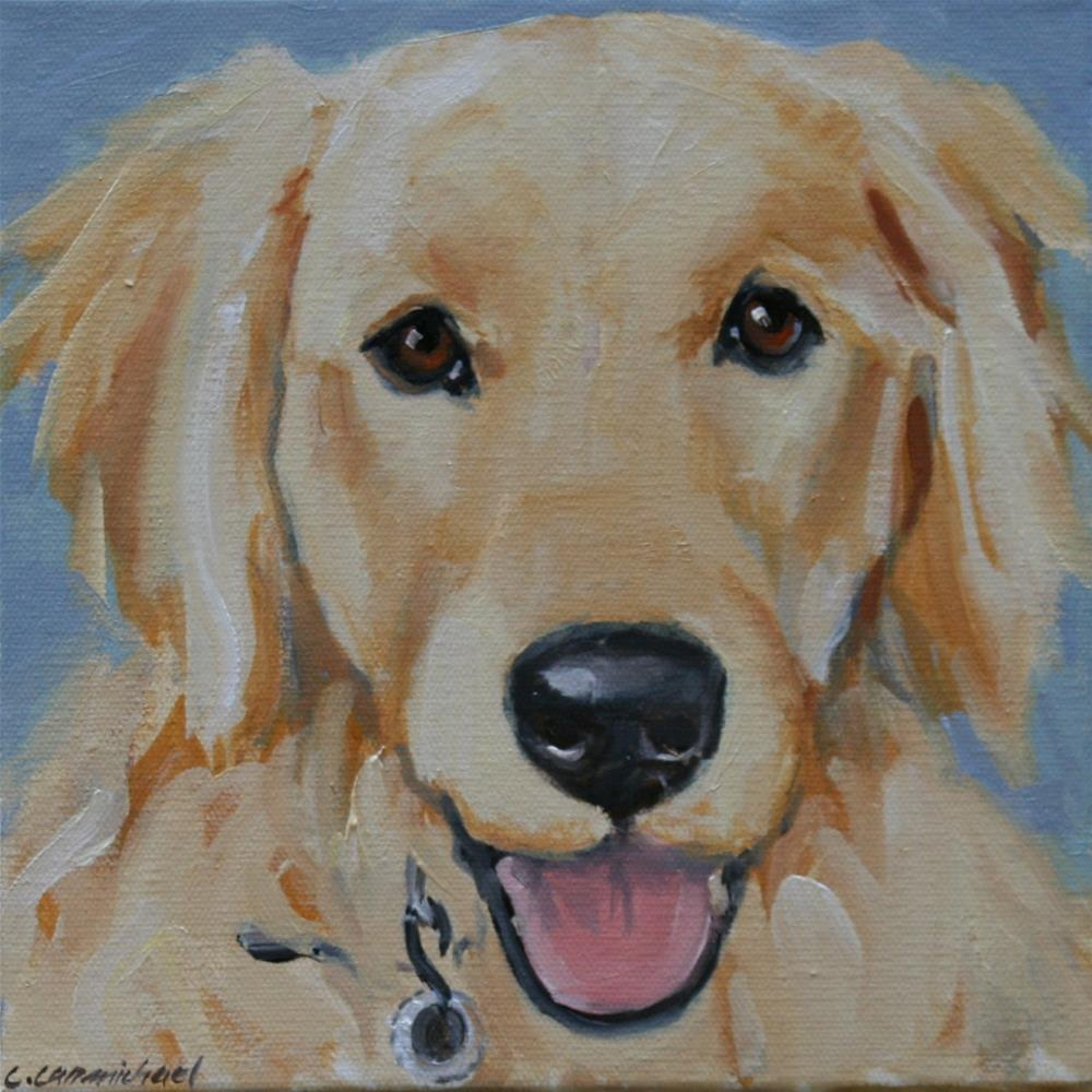 """molly"" original fine art by Carol Carmichael"