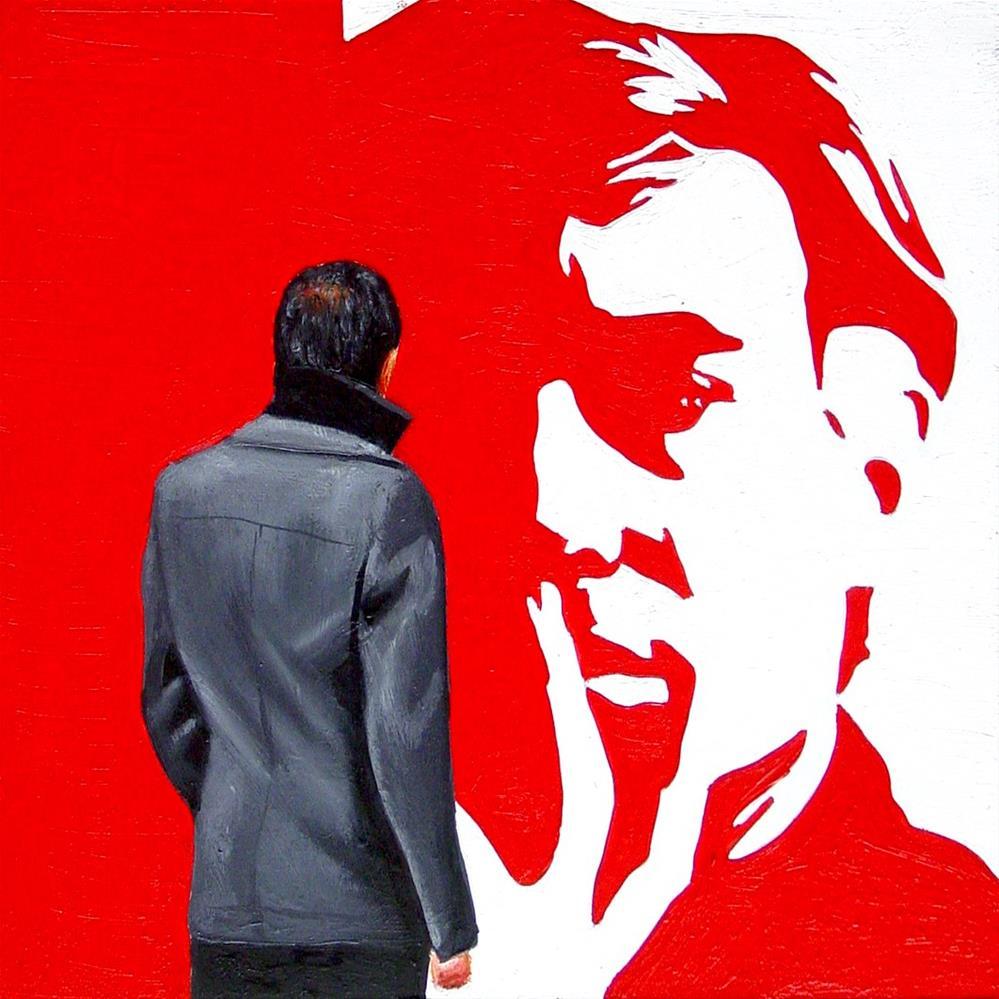 """Red Andy"" original fine art by Gerard Boersma"