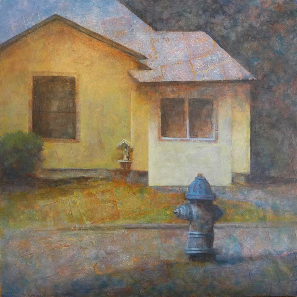 """Little Shrine"" original fine art by Robyn Jorde"