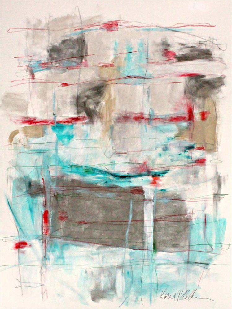 """Woven"" original fine art by Kerri Blackman"