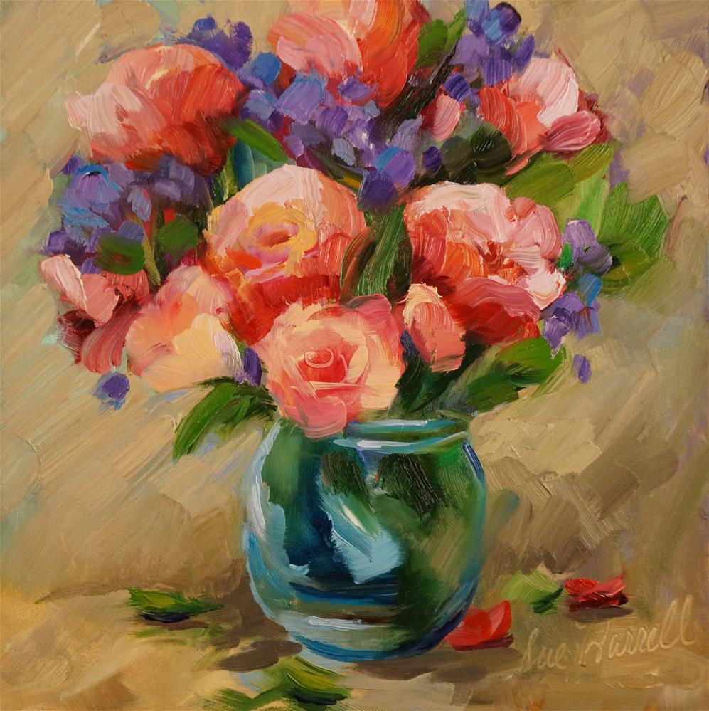 """Things We Love"" original fine art by Sue Harrell"