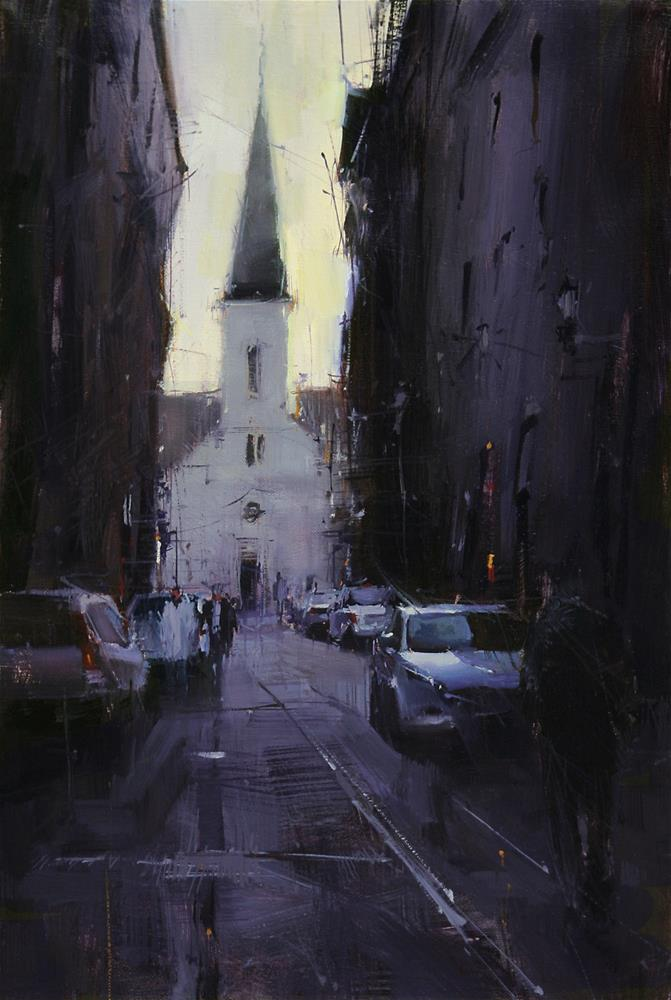 """""""Equilibrium"""" original fine art by Tibor Nagy"""