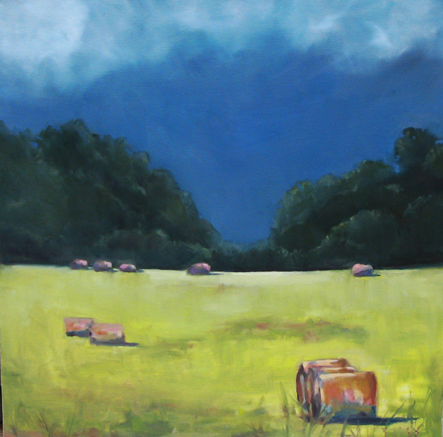 """Summer Storm"" original fine art by Donna Thomas"