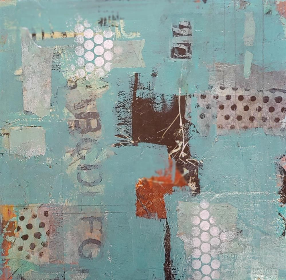 """""""Letters Number 501"""" original fine art by Cindy Haase"""