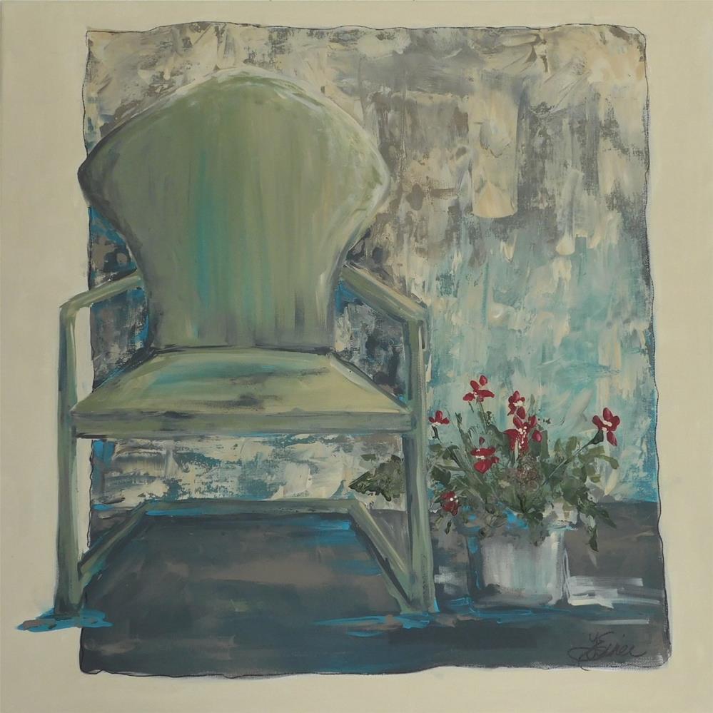 """""""Relax"""" original fine art by Terri Einer"""