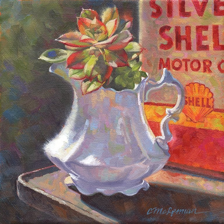 """Repurposed"" original fine art by Connie McLennan"