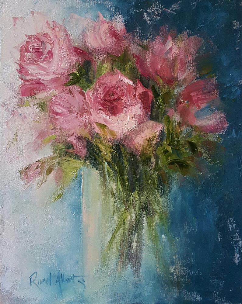 """""""FOR SOMEONE SPECIAL"""" original fine art by Ronel Alberts"""