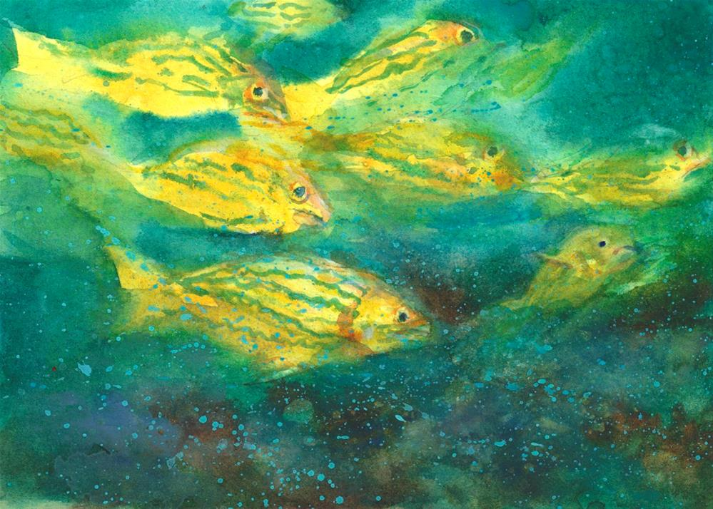 """Gifts of the Sea"" original fine art by Linda Henry"