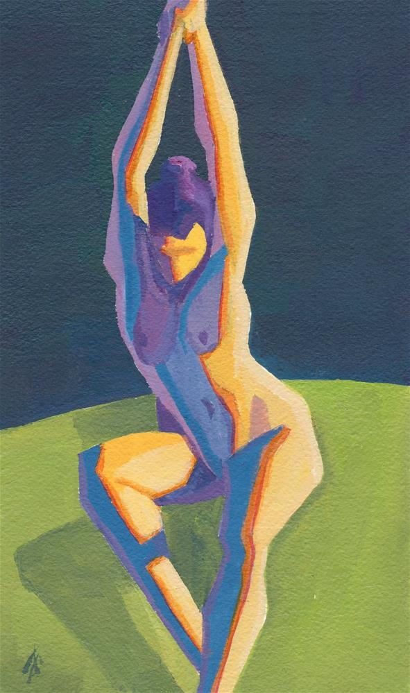"""Christine"" original fine art by Mark Allison"