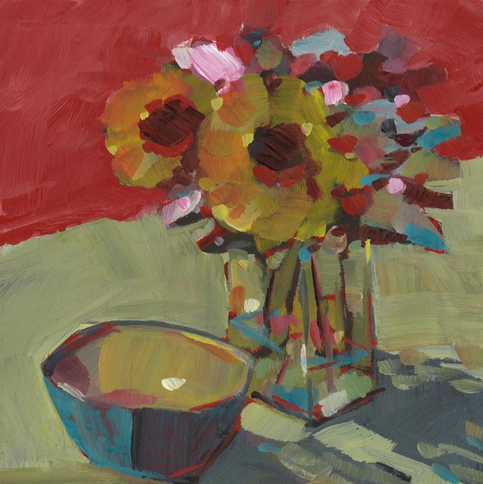 """""""0797: Warm Afternoon"""" original fine art by Brian Miller"""