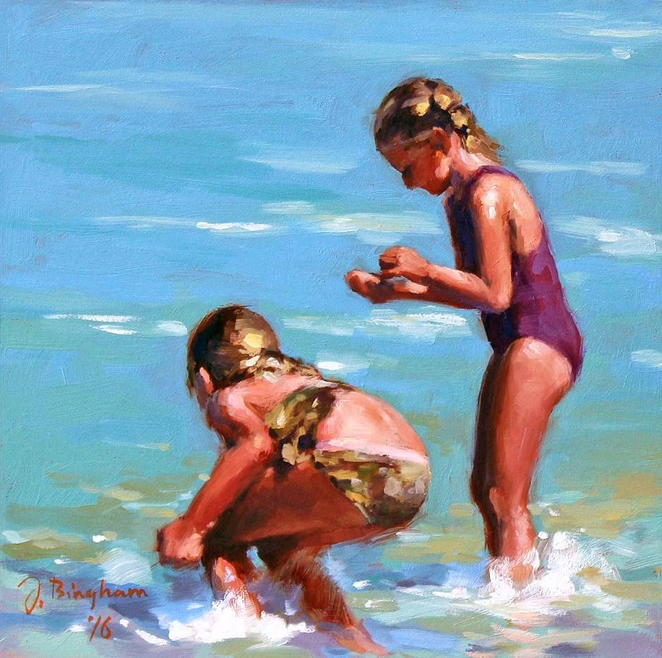 """Shell Selectors"" original fine art by Joanna Bingham"