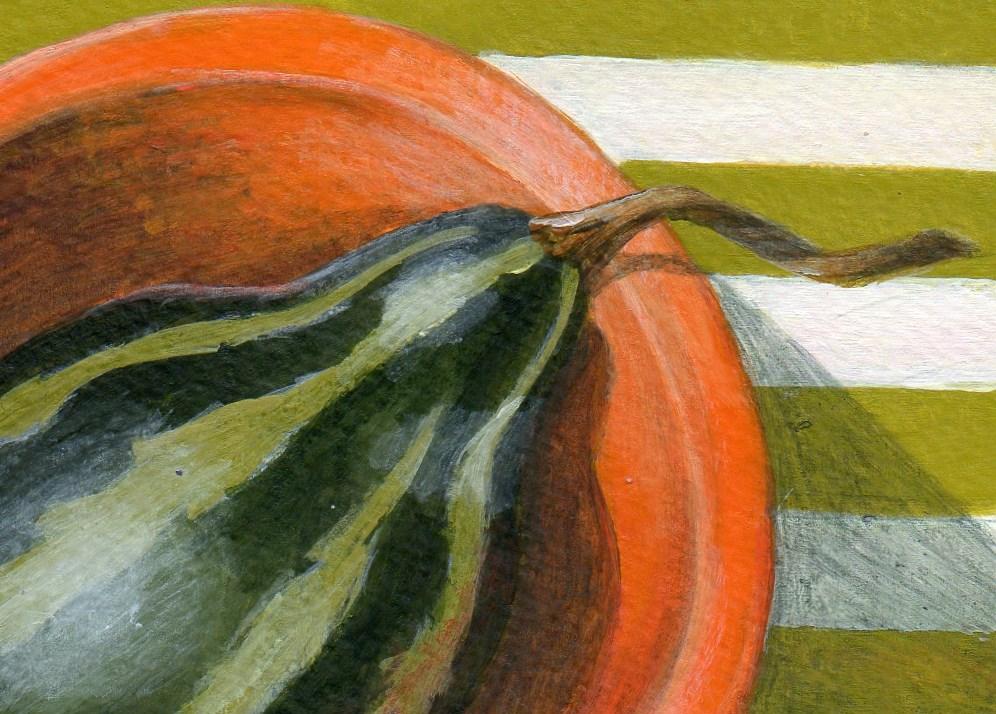 """Stripes"" original fine art by Debbie Shirley"