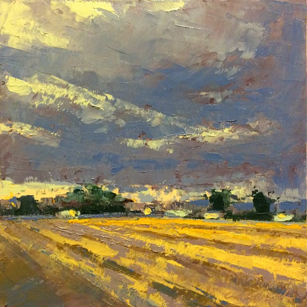 """Winter, Grey Light"" original fine art by Mary Gilkerson"