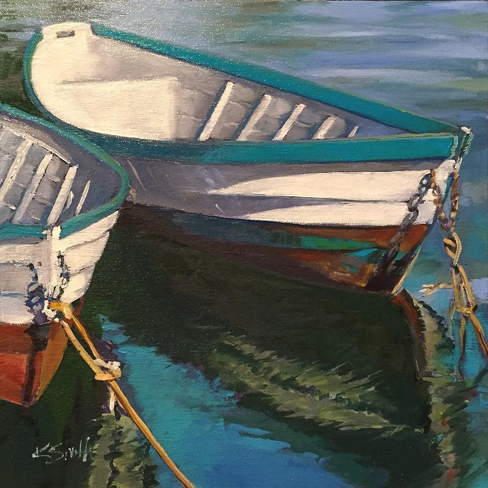 """""""rock the boat!"""" original fine art by Kim Smith"""