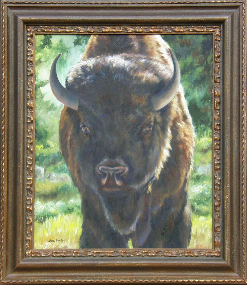 """Scout"" original fine art by Lori Brackett"