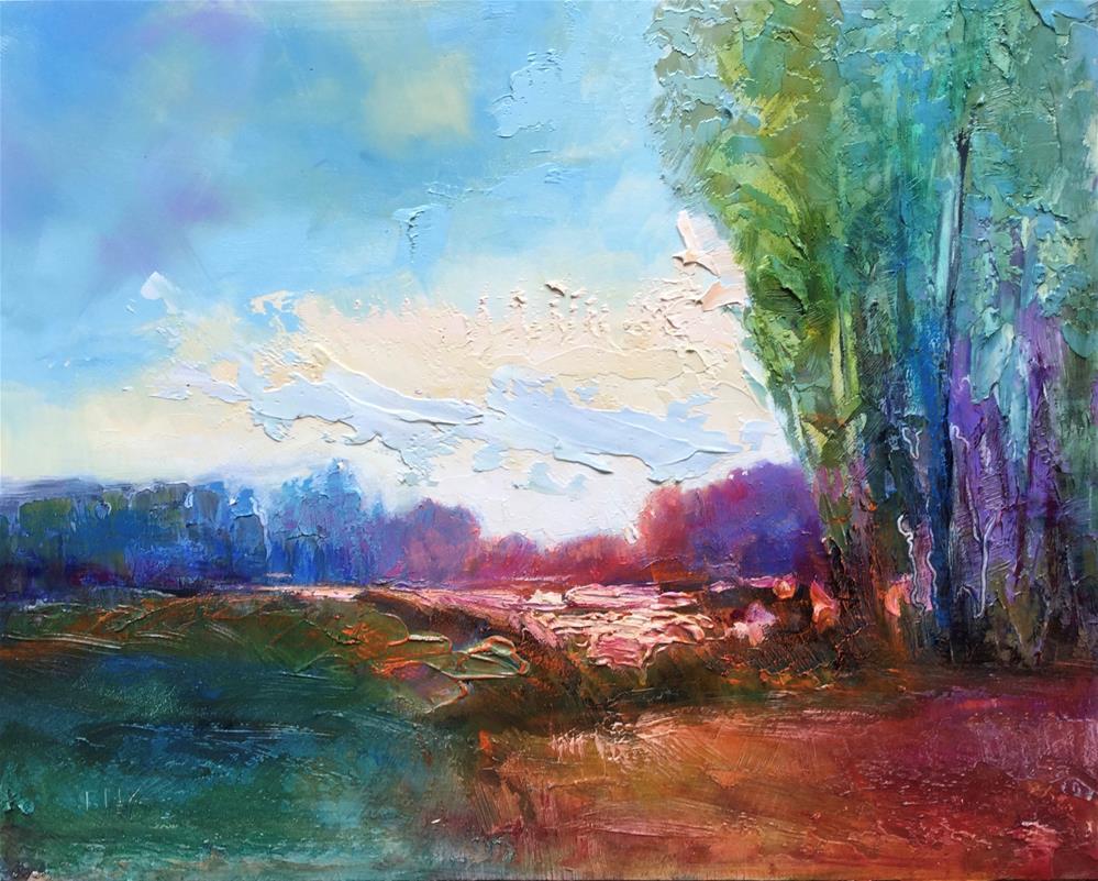 """Interpretations 1"" original fine art by Charlotte Fitzgerald"