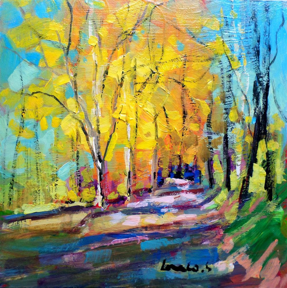 """Autumn"" original fine art by salvatore greco"