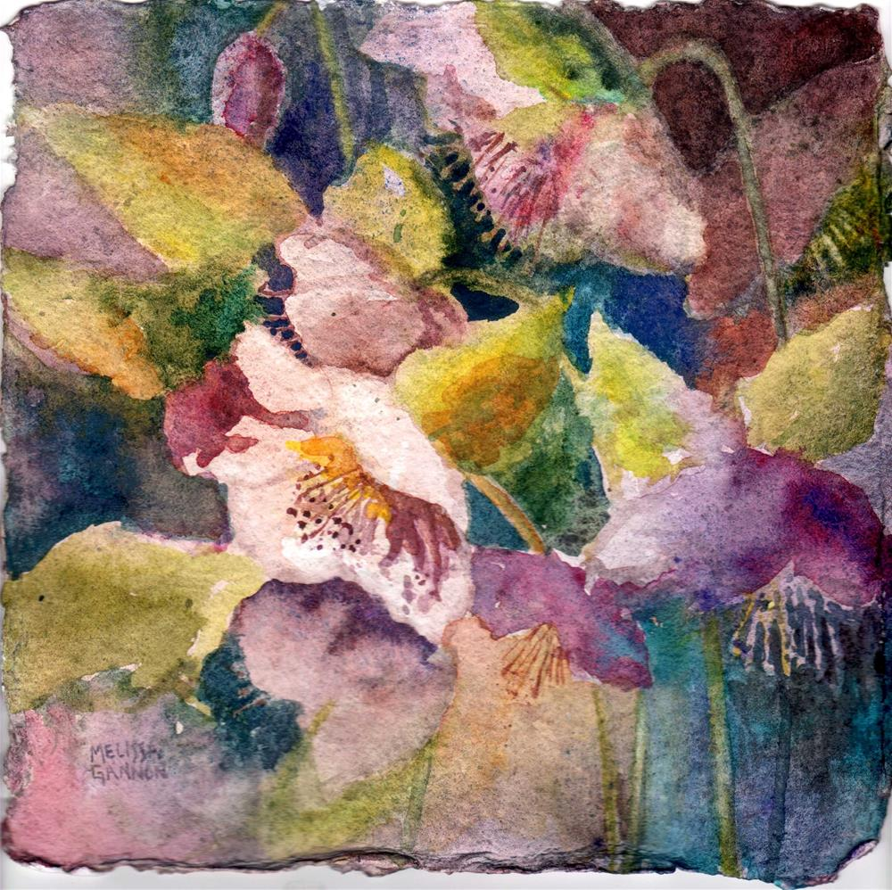"""Hellebore Magic"" original fine art by Melissa Gannon"