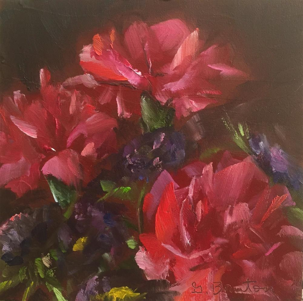 """Reds and Purples"" original fine art by Gary Bruton"